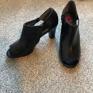 Shoes - NWOT peep toe heels